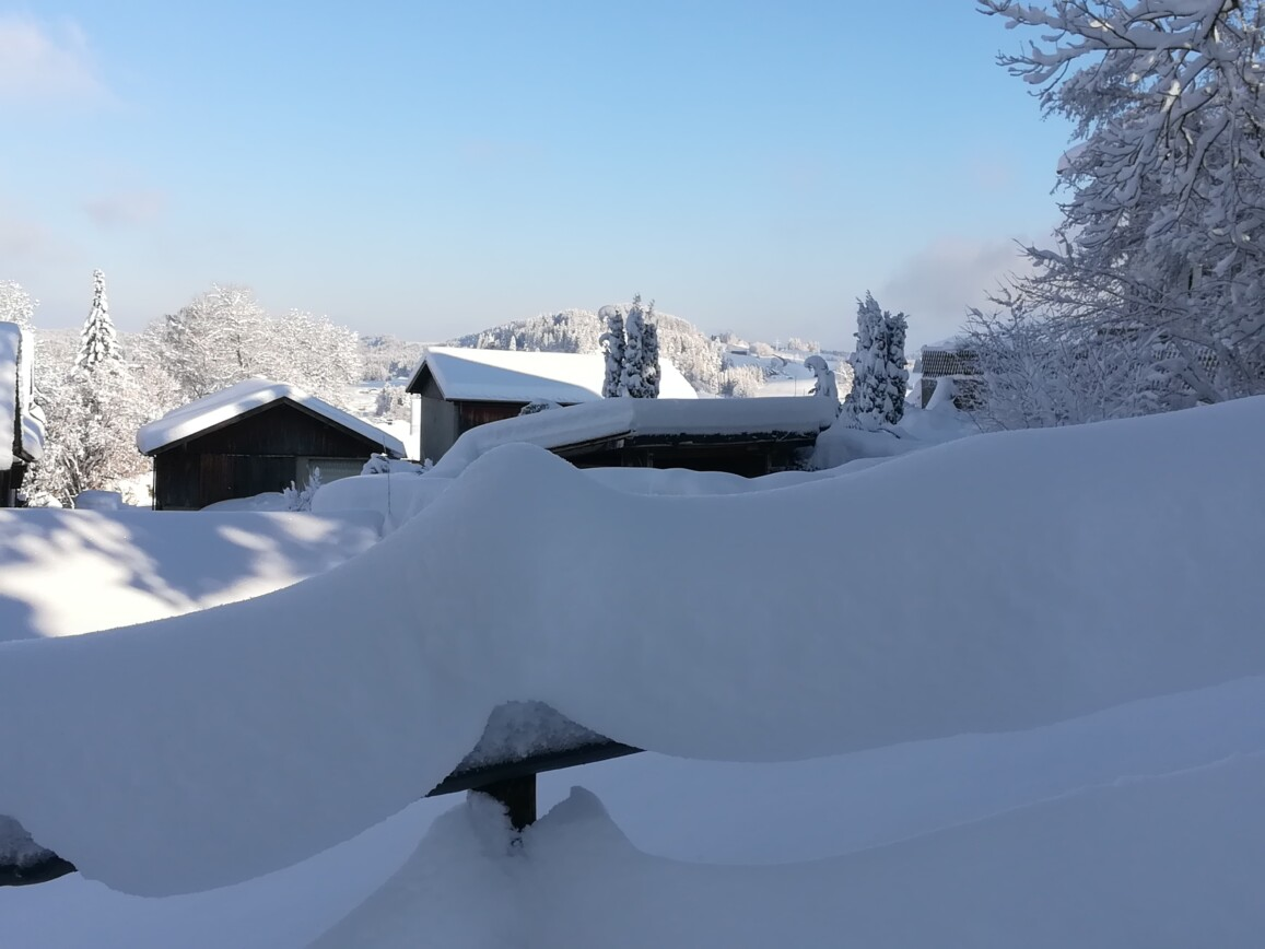Winterlandschaft Seeg