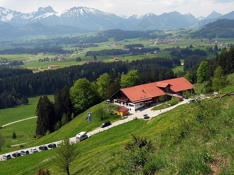 Urlaub in Seeg: Wanderung zur Alpe Beichelstein