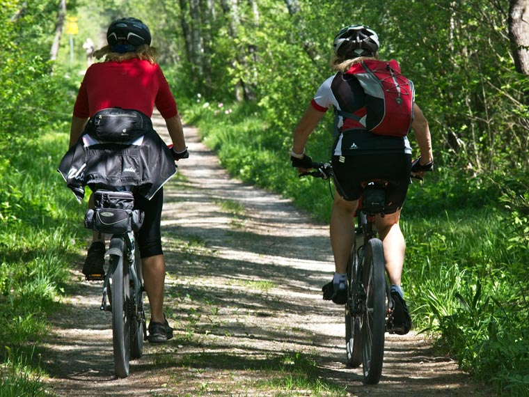 Urlaub in Seeg: Radfahren im Allgäu