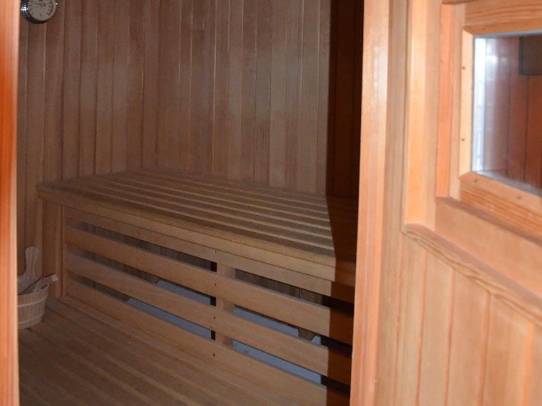 Saunabereich Pension Heim